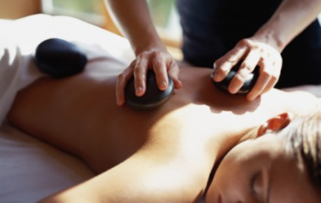Hot Stone Back, Neck & Shoulder Therapy